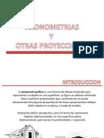Axonometrías y Otras Proyecciones