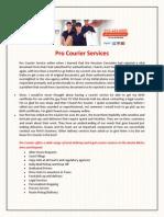 Pro Courier Services