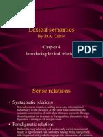 Lexical Semantics Ch 4_GrB4