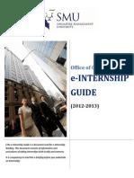 Internship Guide Late2012