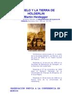 Heidegger - EL CIELO Y LA TIERRA DE HÖLDERLIN