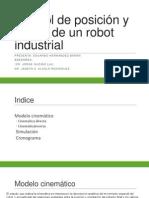Control de Posición y Fuerza de Un Robot