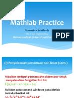 Mathlab Practice