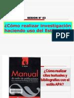 SESION N_ 03 - COMO REALIZAR INVESTIGACIONES EN EL ESTILO APA.ppt