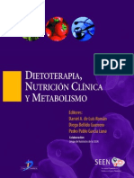 Dietoterapia, Nutrición Clínica y Metabolismo