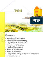 Securities Analysis & Investment Management