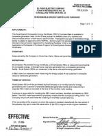 El-Paso-Electric-Co-Renewable-Energy-Certificate-Purchase