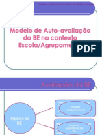 Power Point Modelo de Auto-Avaliacao Da BE
