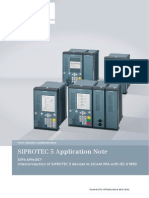SIP5-APN-007 Interconnection of SIPROTEC 5 Devices to SICAM PAS En