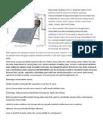 Solar W Solarater Heater