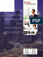 Infinit Datum Corporate Brochure