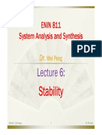 Lecture 6 Stability