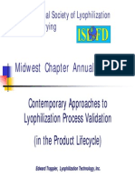 ILFD Lyophilization Process Validation 04-14-10 One Slide Pe