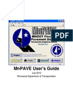 MnPAVE Users Guide