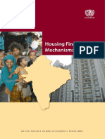 Housing Finance Mechanisms in India