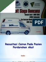 Resusitasi Cairan Pada Pasien IBSI