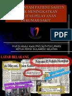 Prof. Kadir - Workshop Komite Medik 2013 Di Mks