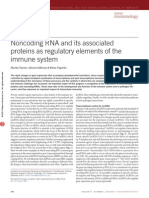 Noncoding RNA and Its Associated Proteins as Regulatory Elements of the Immune System