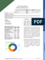 Petromax Refinery Rating Report 2012