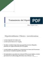 Tto. Hipotiroidismo