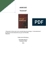 Dostoievski Por André Gide