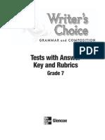 Grammar and Composition Grade 7