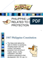 Philippine Laws Related to Child Protection