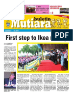 Buletin Mutiara Sep #1 issue - Chinese/Tamil/English