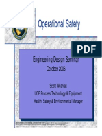 Operational Safety