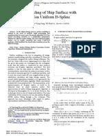 [Proceeding] Modeling of Ship Surface with Non Uniform B-Spline.pdf