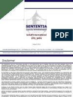 Sententia Capital Schuff International b8ea1a96be