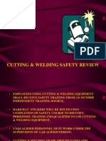 Cutting & Welding Safety Review