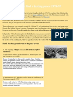 Peace Process Homework