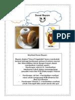 Brosur Donut