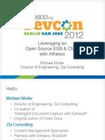 DevCon Slides -- Mule ESB and CMIS