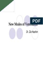 Ventilation Modes