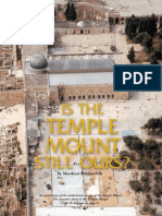 Temple Mount by Rabbi Mordechai Rabinovitch