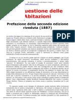 MIA - Engels_ La Questione Delle Abitazioni - Prefazione