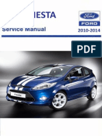 Ford Fiesta Workshop Manual 2011 Airbag Personal Protective Equipment