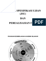 Jadual Spesifikasi Ujian (JSU)