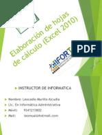 Curso de Elaboración de Hojas de Calculo (Excel 2010)