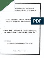Guia Para Diseño y Construcción de Redes Subterraneas