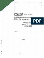 Sinclair TTi 1905a Mulimeter Service Manual