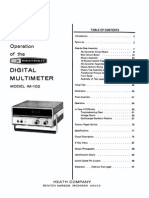 Heathkit IM-102 DVM Service Manual