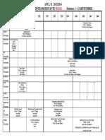 Programare Examene Anul II MATE Si INFO Sesiunea 1-13 Sept 2014