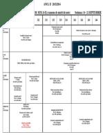 Programare Examene Anul II MATE Si INFO Sesiunea 14-21 Sept 2014