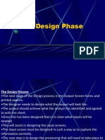 The Design Phase