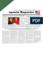 September 10 - 16, 2014 Sports Reporter