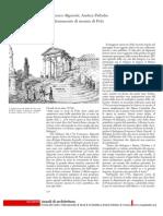Francesco Algarotti, Andrea Palladio e Un Frammento Di Marmo Di Pola
