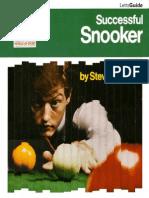 Successful Snooker Pdf